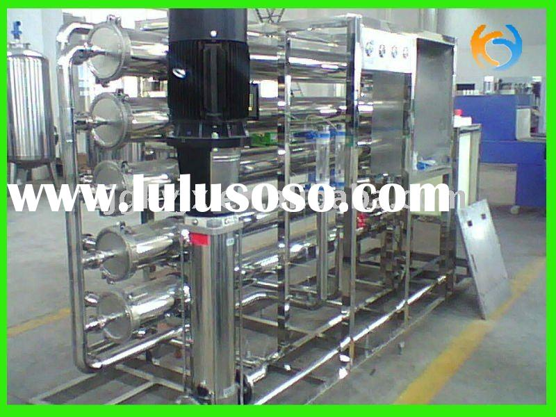 water treatment water purification system ro for making drinking water pure water seawater desalinat