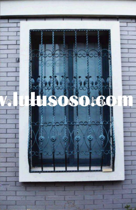 wrought iron window/cast iron windows