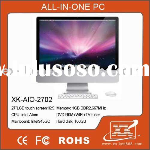 27'' All in one PC ,All in one pc tv , touch screen all in one (XK-AIO-2703)
