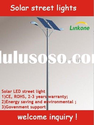 50W LED solar street lighting system