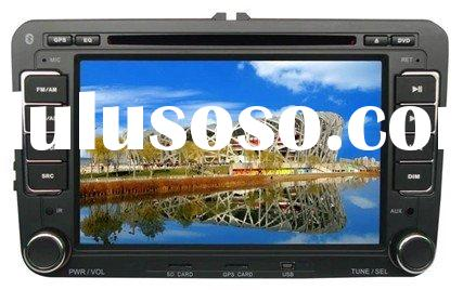 "7"" VW car dvd player with bluetooth, GPS, RDS, steering wheel control, IPOD, with ISDB-T option"