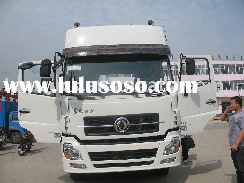 China tractor truck factory supply Dongfeng 6X4 tractor head,container truck, cummins engine 340hp,