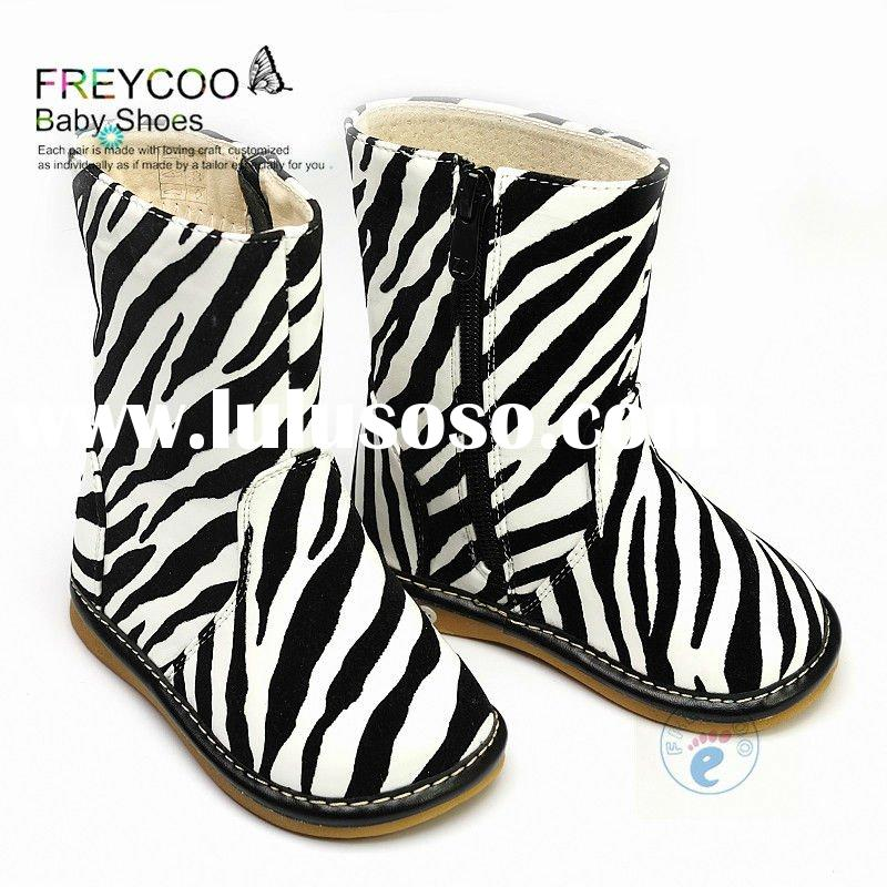 New Fashion Zebra print baby shoes PB-8010ZE