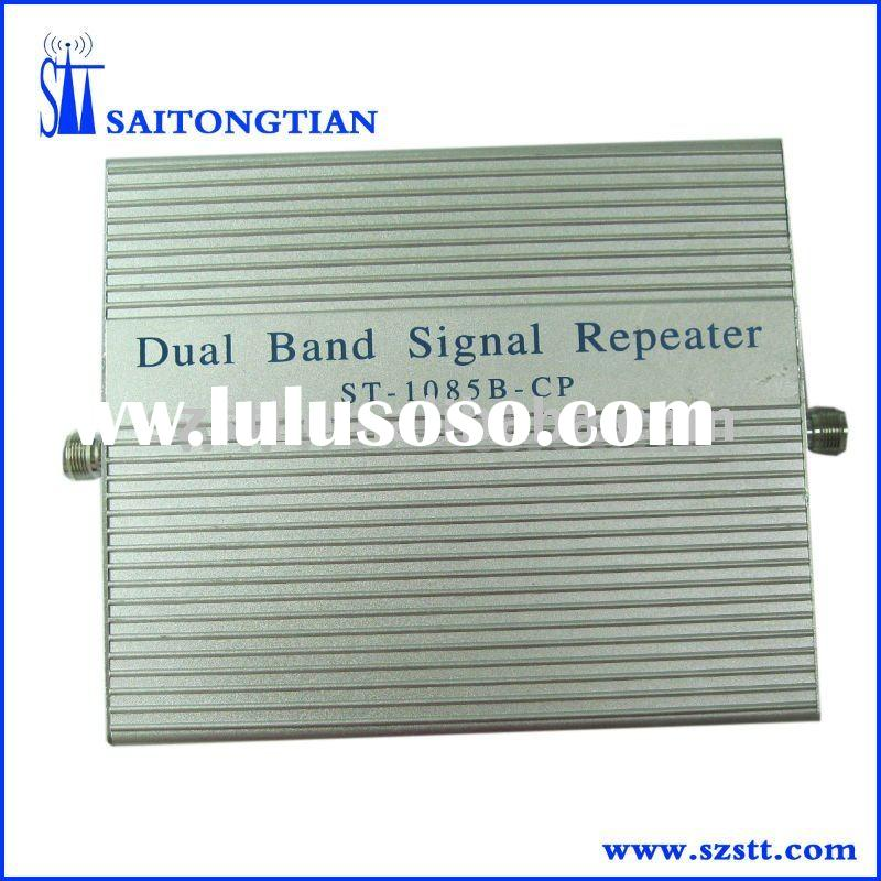 cellular booster 900/1800mhz GSM/DCS signal repeater with CE