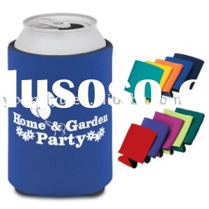 custom neoprene collapsible can cooler , can koozie for Coca Cola