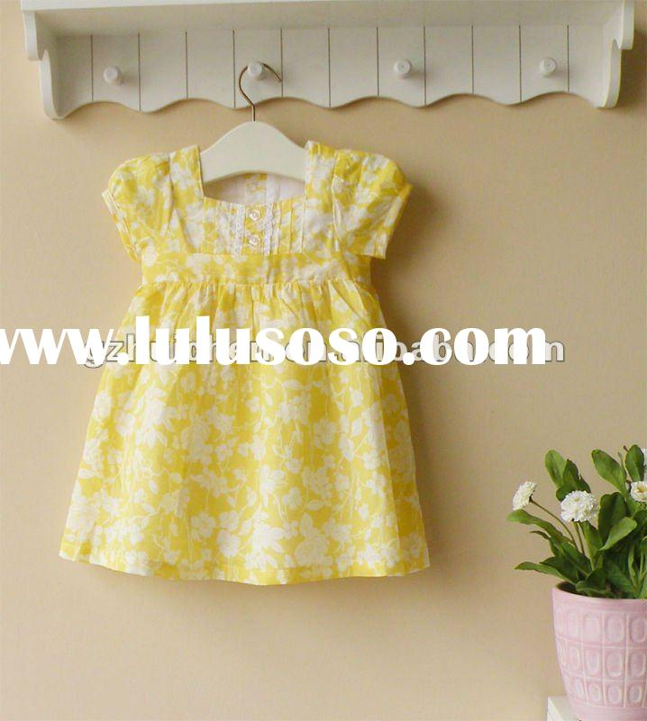 mom and bab 2012 New summer baby clothes 100% cotton girls dress