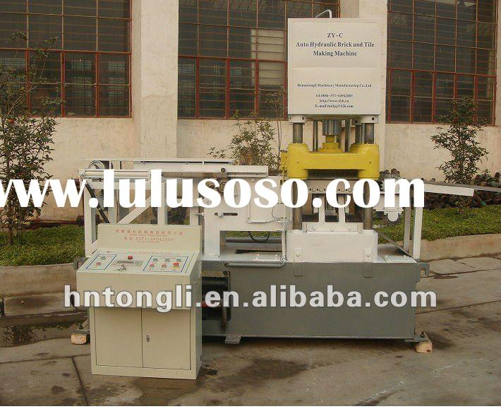vitreous tile and brick making machine