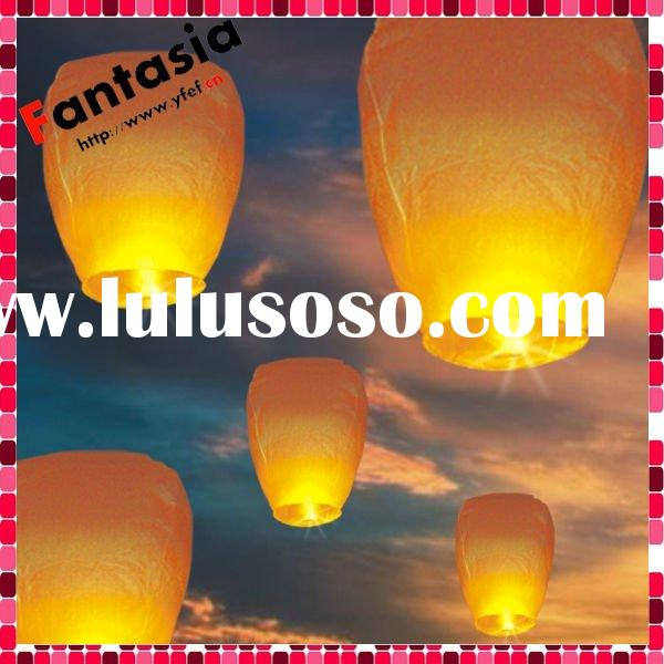 100% Biodegradable ECO Chinese Sky Flying Paper Lantern