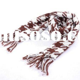 100% Scottish Cashmere yarn dyed scarf
