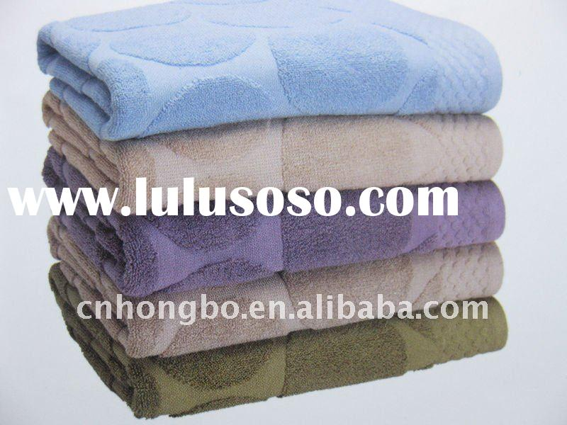 100%cotton wholesale bath towels for home/gift