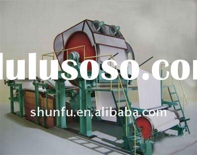 1092model toilet paper making machinery, toilet paper machine