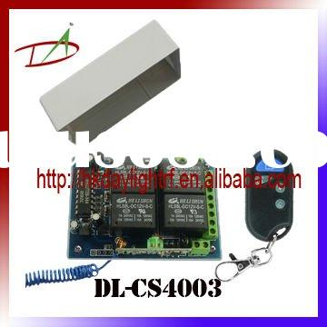 12V or 24V 4ch Wireless RF Remote control switch