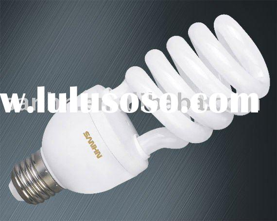 18w/22w/26w widely used half spiral energy saving lamp (pass CE,UL,RHOS)