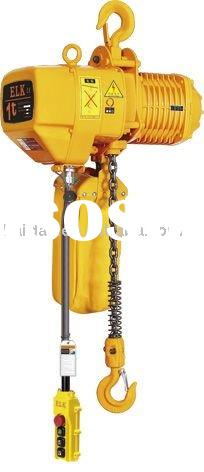 1 ton electric chain hoist with hook