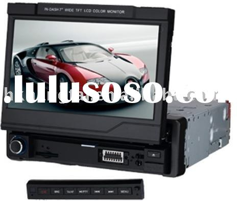 1din car dvd -- one-din car DVD with GPS and touchscreen