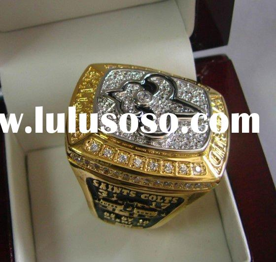 2009 New Orleans Saints Championship Rings