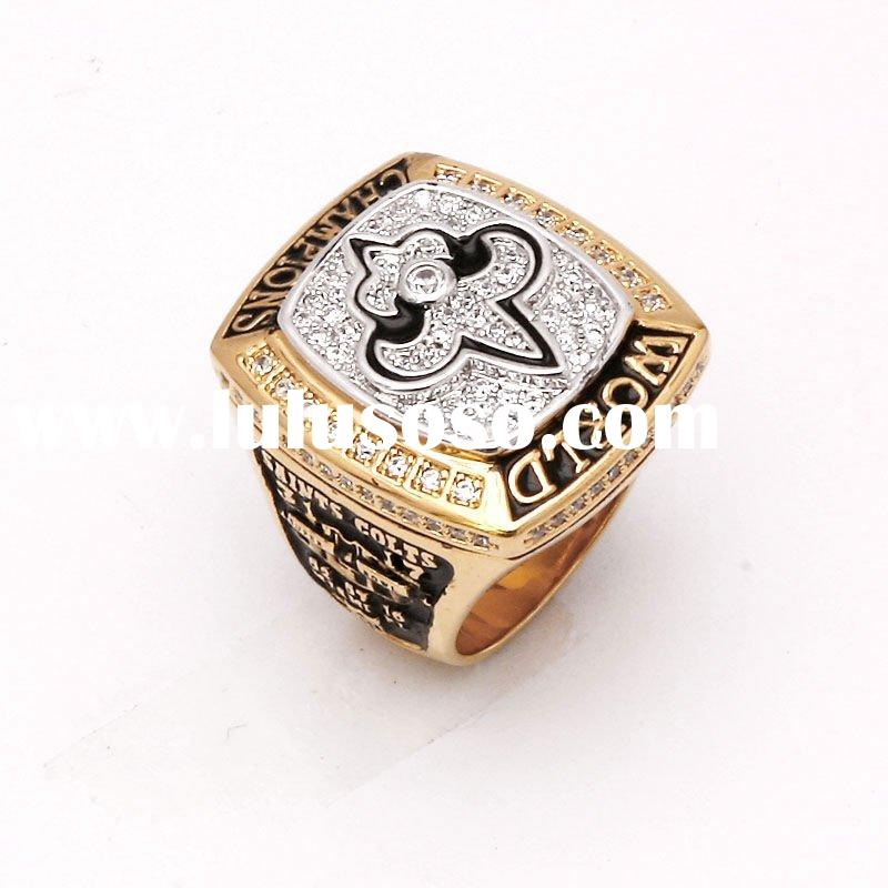 2009 New Orleans Saints Championship Rings-2