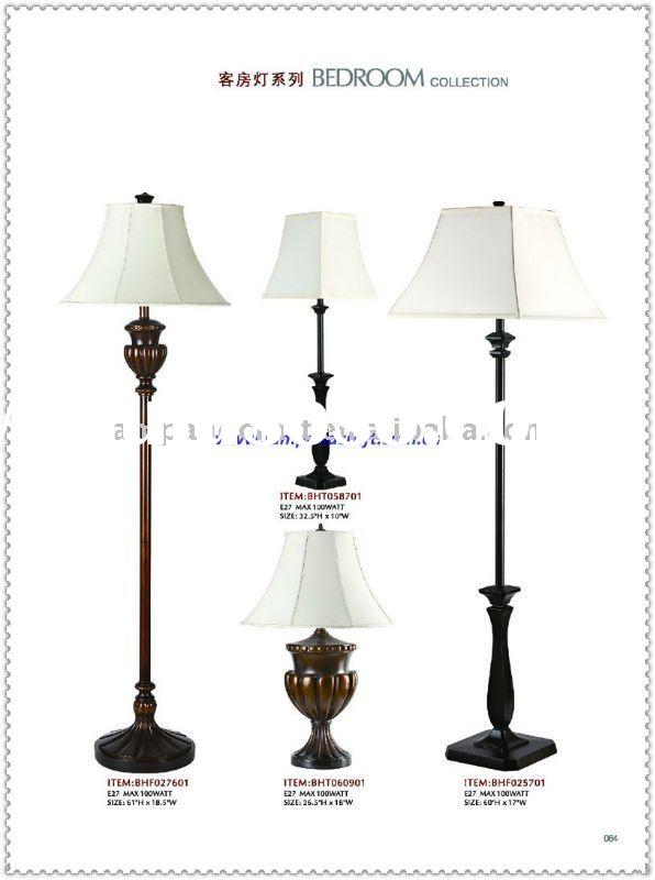 2011 USA Power Outlet Hotel Floor Lamps And Table Lamp-Best Selling Hotest Item
