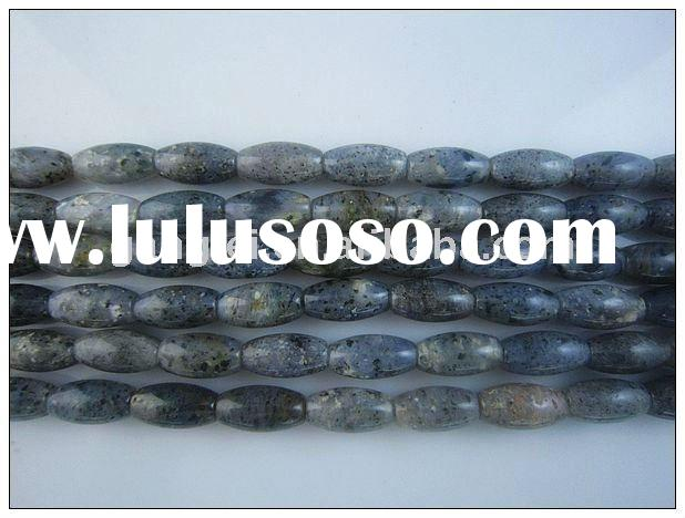 2011 fashion natural stone jewelry/beads stand moss quartz