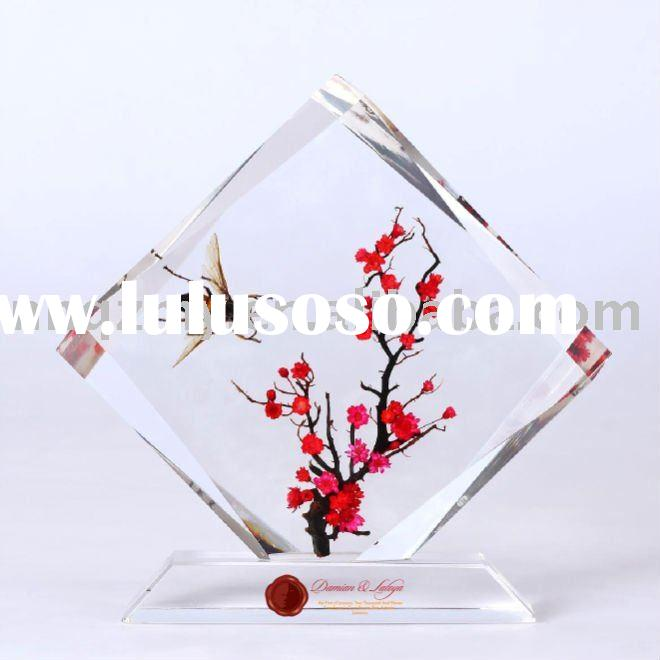 2011 latest design--Real nature resin wedding Gifts