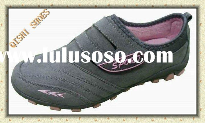 2011 new women suede casual shoes,soft design sport shoes in competitive price