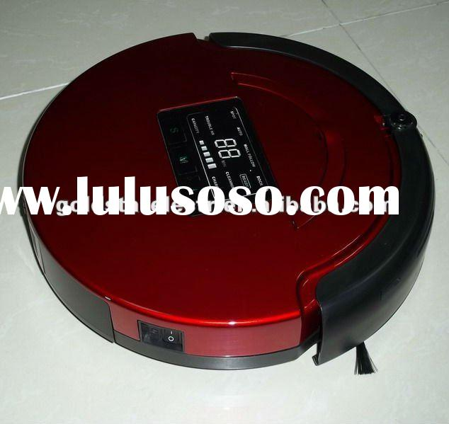 2012 4in1 Newest LED Touch Panel Vacuum Cleaner robot ,dry Robot vacuum cleaner RV-821