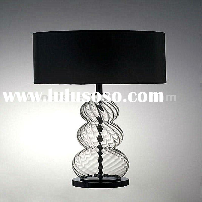 2012 Acrylic fabric shade LED table lamp