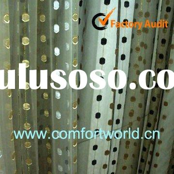 2012 New Design Turkish Curtain Made Of 75%Polyester 25%Viscoce With Embroidery