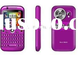 2012 Q99 Cheapest Wifi TV Qwerty Mobile Phone Dual Sim Unlocked
