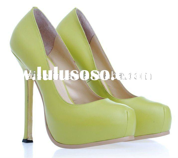 2012 high heels women shoes from china