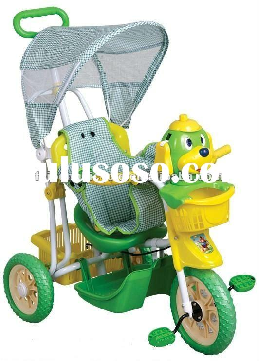 2012 hot sale lovely baby/children/kids tricycle with music panel,best price summer baby products(FP