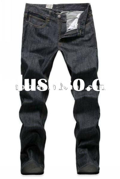 2012 new business men washed jeans cotton pants for men