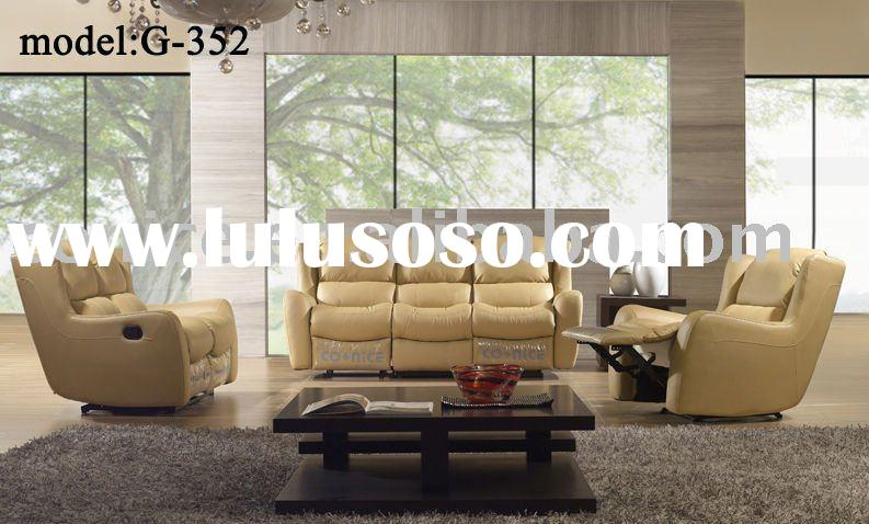 2012 new design drawing room sofa set G352