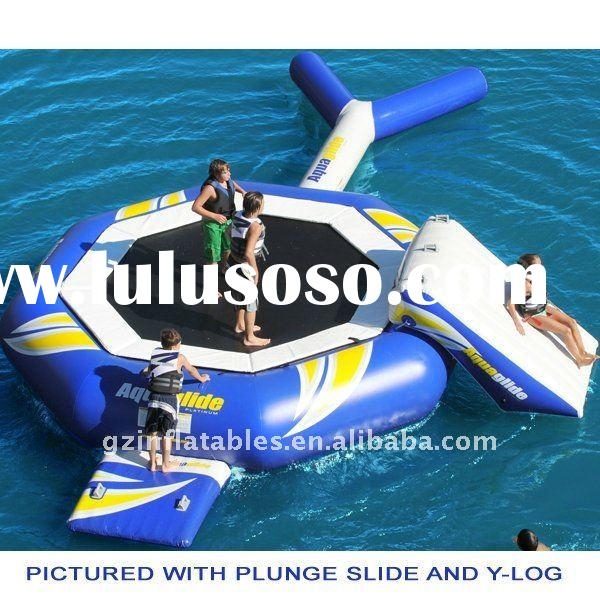 2012 new design inflatable water trampoline float