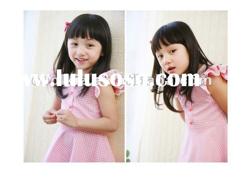 2012 new design lovely girls' dresses for summer kids party dresses wholesale