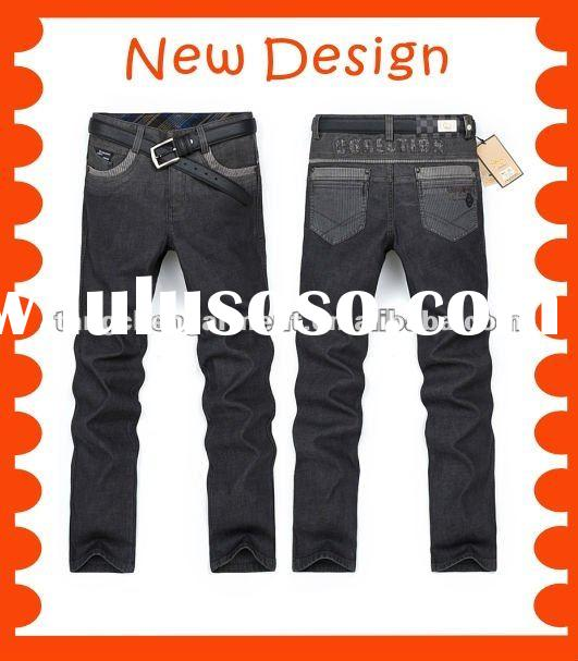 2012 new style mens jeans pants, brand men jeans pants