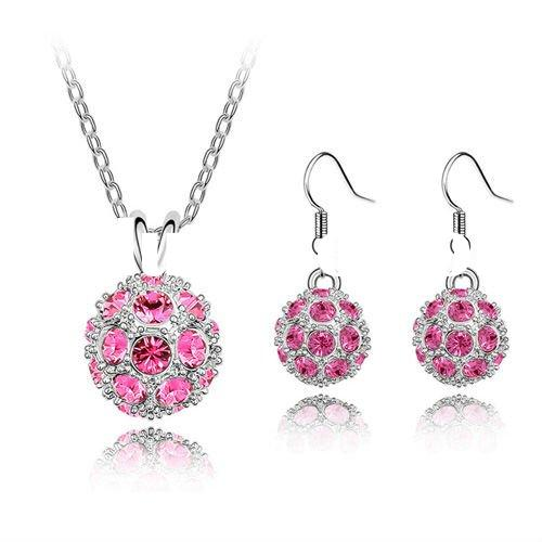 2012 valentine crystal jewelry wholesale jewelry 2011123013 by swarovski crystal
