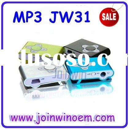 2GB Cross digital mp3 player for 2gb micro sd/tf card