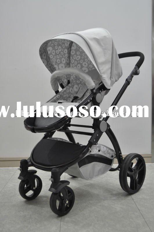 2 in 1 Aluminum Sale Travel System Baby Pram Pushchair Stroller EN1888 certification PL904