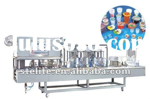 30-300g cup filling and sealing machine for yogurt