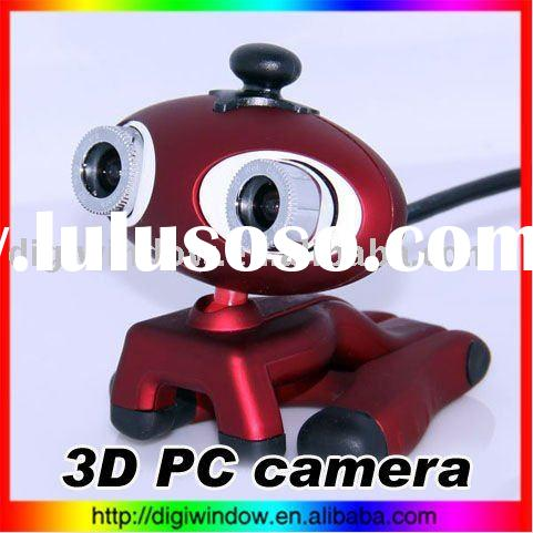 3D PC Camera web camera driver PC Laptop USB 2.0 3D Webcam Skype MSN Video Chat Web Camera
