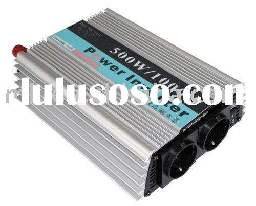 500W  (12v/24V-110V/220v-50Hz/60Hz) pure sine sine wave inverter