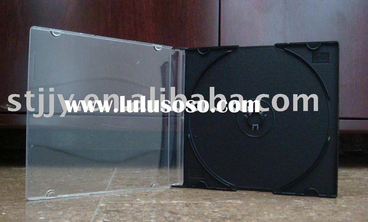 5.2mm Slim Single Black CD Case