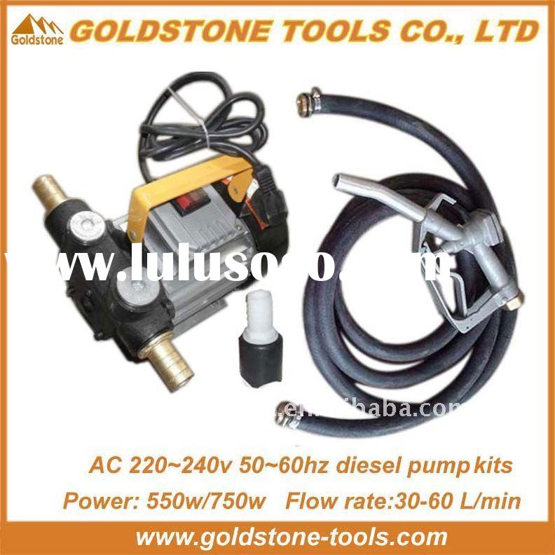 AC 220v 550W diesel pump,electric diesel transfer pump ,diesel fuel rotary transfer pump