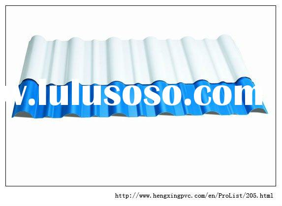 ASA-PVC Corrugated Plastic Roofing Sheets