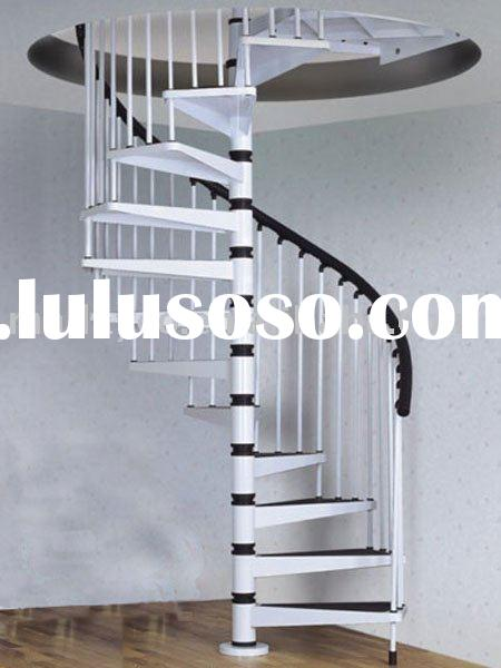 All Steel Spiral Stairs