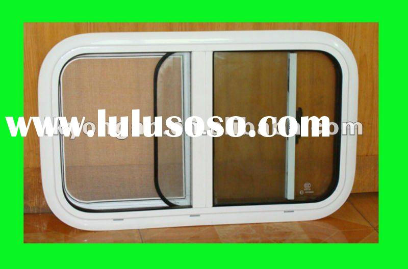 Aluminum Frame rv accessories With fly screen rv caravan accessories motor home windows