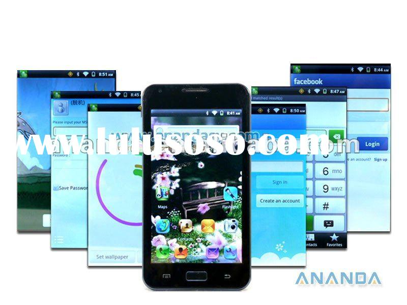 Android 4.0 WCDMA/GSM 3G Dual SIM 5.0 inch Capacitive touch Mobile Phone I9220