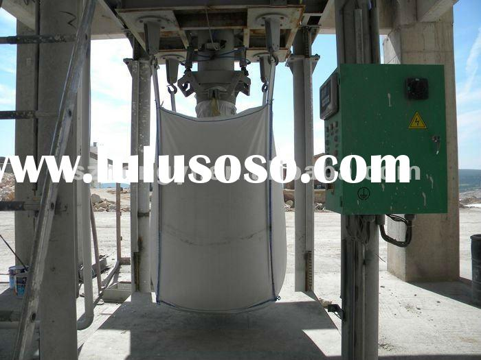 Automatic Jumbo Bag Cement Filling and Packaging Machine with Roller Conveyor