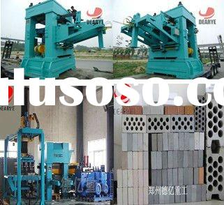 Automatic cement concrete brick/block making machine
